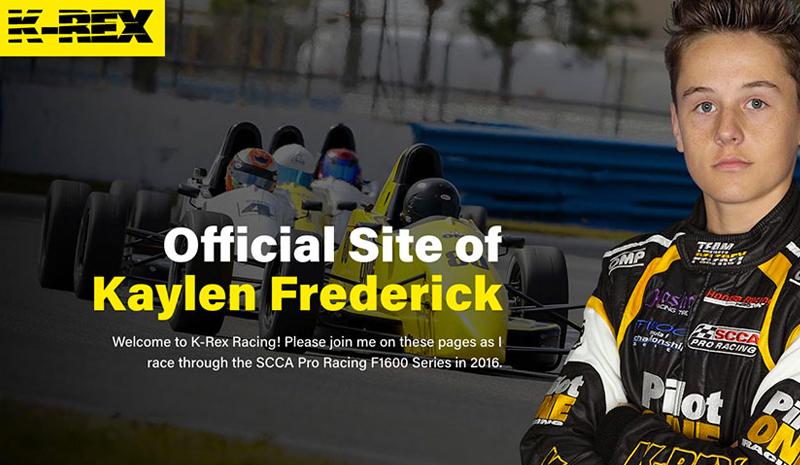 k-rex racing home page